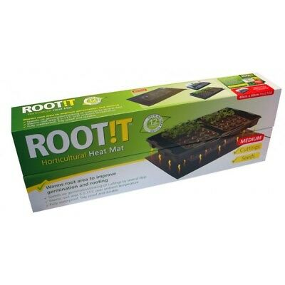 ROOT !T Hydroponic Propagation Heat Mats Small Medium & Large seedling ROOT IT
