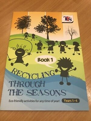 Recycling Through The Seasons • Book 1 • Ages 1-4