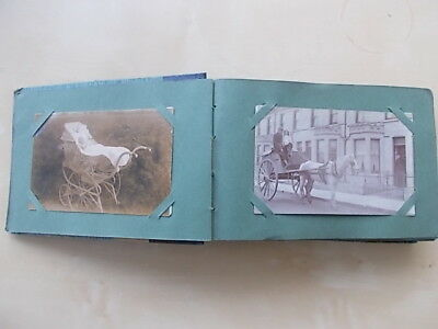 Antique Album Of Photographs & Postcards - Lovely Collection - All Shown