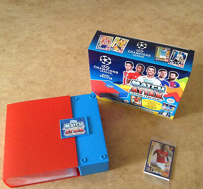 Match Attax Uefa Champions League 2017/18 Trading Card Pro Collector Binder