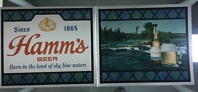 Hamm's Beer Large Scene O Rama - Large lighted Panel Replacements