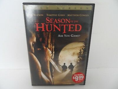 Season of the Hunted. Are you game? Full Screen DVD