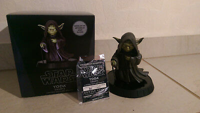 Star Wars Gentle Giant Yoda Ilum Limited Statue 12 Inch Rare