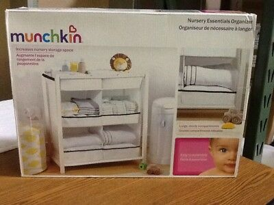 Munchkin Nursery Essentials Organizer, Baby Storage Cabinet - NEW