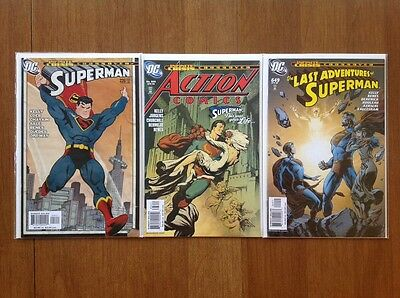 Superman 'This is Your Life' Complete Run Lot #226 Action #836 Adventures #649