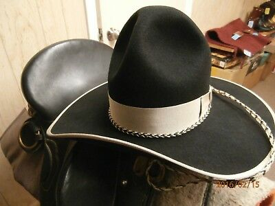 """""""sass Cowboy""""  Another Great Character Hat 3X Custom Made """"montana Peak"""""""