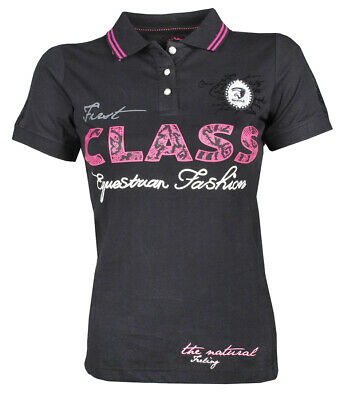 HORKA Fashionable Riding Polo Shirt - 'Allegro'