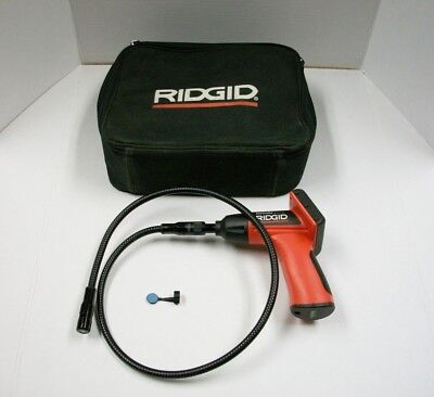 Ridgid See Snake Micro with Case ColorDisplay