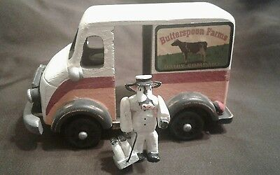 Dairy Milk Truck with Cow