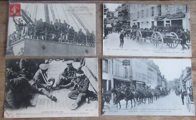 Lot 5 CPA Guerre 14-18 WW1 Armée anglaise British Army in France