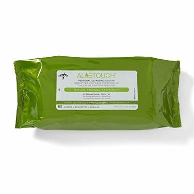 Personal Wipes Cleaning Cloths Hypoallergenic with Aloe(12 packs of 68)