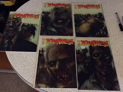 Zombies Feast #1-5 Complete Set (Lot of 5) IDW VF/NM