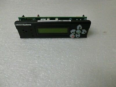 New! Alliance Systems Display Read Out 730-1162-00 Rev 0A