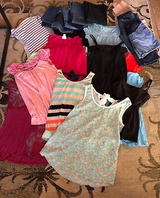Maternity Clothes Lot Size Small Various Brands 22 Items!!