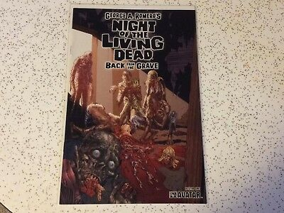 Night Of The Living Dead : Back From The Grave !!! Avatar !! Vf Nm Romero Gore