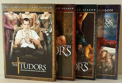 The Tudors: Complete Series DVD box set. (SEASONS 1 - 4). Like new condition.