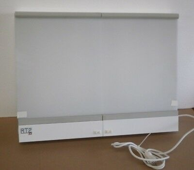 AMD 502D/FAS RT-2 Two-Bank Wall Mount Xray X-Ray Viewer Illuminator 60W 4-Lamp