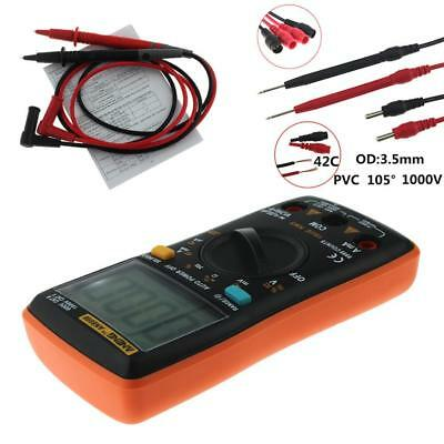 AN8008 True-RMS Digital Multimeter 9999 Counts Ammeter Voltage Meter Tester PT