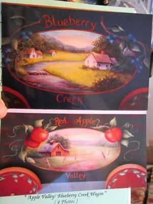 Apple Valley/Blueberry Creek Wagon Painting Packet-Marty Lambeth Robson