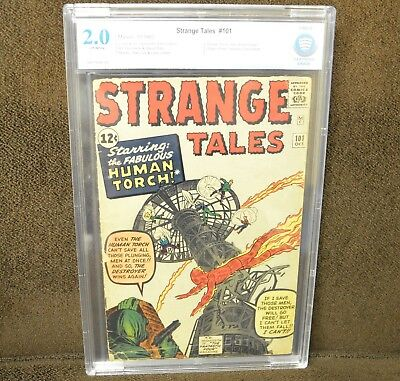 Cbcs 2.0 Strange Tales #101 (Marvel, 1962) Human Torch Solo Stories Begin.