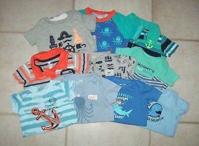 Baby Boy Nautical Lot 6 9 12 month Carters Baby Gap Koala Baby Jumping Beans