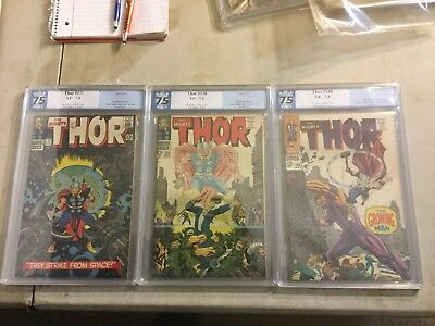 Thor Lot Graded 131, 138, 140