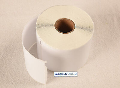 30256 White Labels Blank Adhesive Compatible w/ Dymo® LW TURBO 4XL Duo 20 Rolls