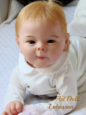 Reborn doll  baby Lusy  (kit by AK Kitagawa )