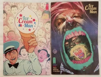 Ice Cream Man #1 A and B VARIANT SET  Image Comics Near Mint   FREE  SHIPPING