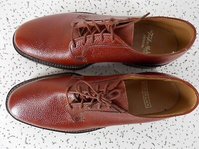 Vintage early 1950's Taylor-Made Imperial blucher, sz 9A/B, Martins Scotch Grain