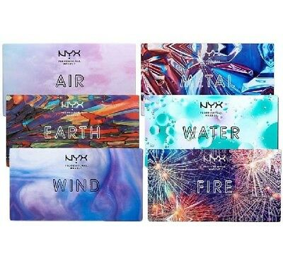 New NYX In your Element Earth Fire Eye Shadow Palette UK Stock Free Delivery