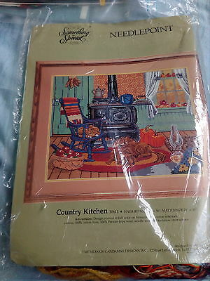 Country Kitchen Needlepoint kit by Something Special
