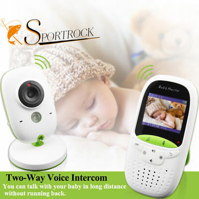 2.0 inch Baby Monitor VB602 IR Night Vision Temperature Lullabies Intercom EU