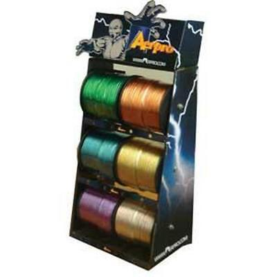 Aerpro Coloured Cable Display Stand C/W 6 Rolls Coloured Cable APW940KT Free Shi