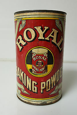 Vintage Royal Baking Powder Paper Label 2.5lbs