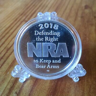 National Rifle Association 1 oz. Silver Round .999 Pure Silver Round 2018