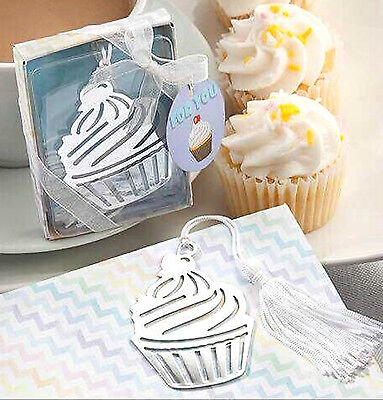 Cupcake Bookmark Book Page Mark Library Bake Cake Food Birthday Party Box Gift