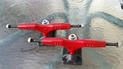 NOS Vintage 80s GullWing Pro III RED skateboard trucks original (pair)