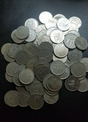 kuwait 50 fils lot of 93 coins