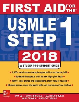 First Aid for the USMLE Step 1 2018 (PDF)