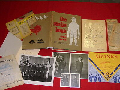 1963 Cub Pack Photos / Den Mother Certif/ Psalm Book/ Apollo 11 Clippings & More