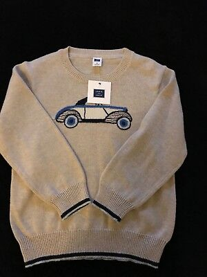 janie and jack boy's long sleeve pullover sweater size 3, NWT