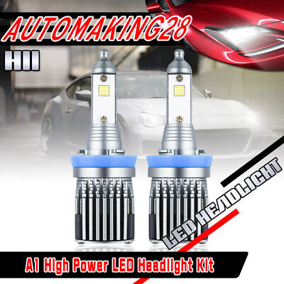 2x CSP  LED H11 Low Beam Headlight Bulbs For 2008-2017 Freightliner Cascadia