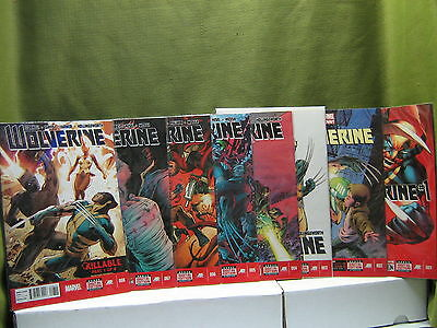 Lot 8 Marvel Now  WOLVERINE #1,2,3,4,5,6,7,8  / You Must See !  /