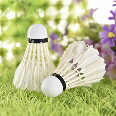 12pcs/set Professional Goose Feather Badminton Competition Gaming Shuttlecock