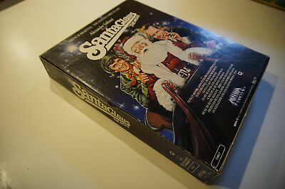 Santa Claus the Movie Dudley Moore 1985 video  promo display Christmas holiday
