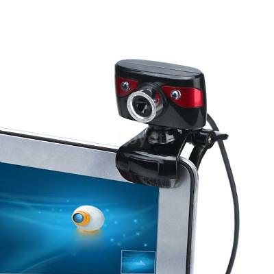 HD 12 M USB2.0 Web Cam Webcam Camera with MIC Microphone Clip-on Rotatable M0Q4