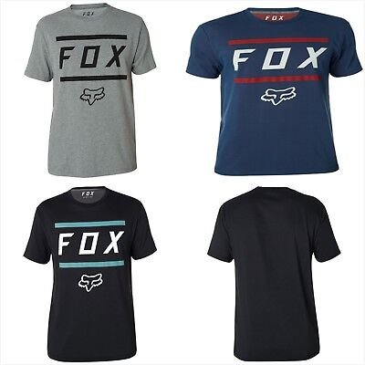 2018 New Fox Racing Gents S/Sleeve Tee T-shirt MX Motocross Graphic Size S-XXL