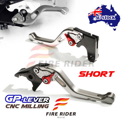 Fit Yamaha TMAX 530 SX / DX 2017 CNC STR GP Black Short Front Rear Brake Levers