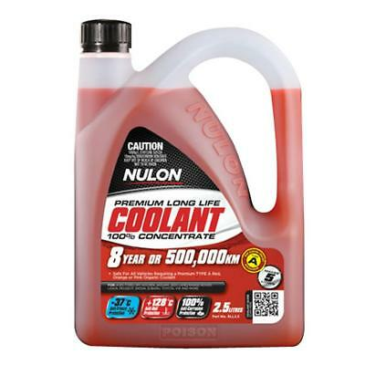 Nulon Nulon Red Long Life Concentrated Coolant 2.5L RLL2.5 Free Shipping!